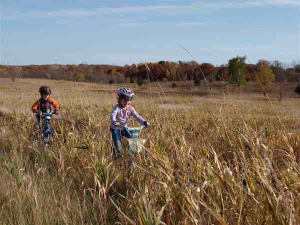 October - Kids 1st Mtb Ride!